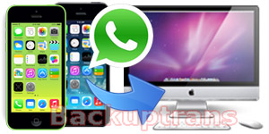 Transfer WhatsApp Chat History from iPhone to Mac for Backup