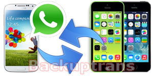 Transfer WhatsApp Messages between Android and iPhone