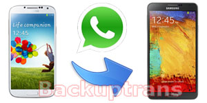 Transfer WhatsApp Messages between Android Phones