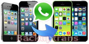 Transfer WhatsApp Chat History between iPhones on Computer Transfer-whatspp-messages-between-iphones